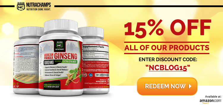 NutraChamps Blog Savings